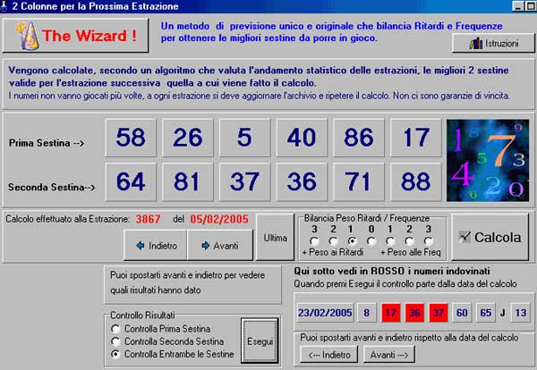 superenalotto programmi gioco